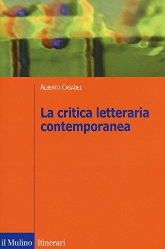 La critica letteraria contemporanea