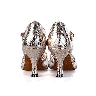 Scarpe da ballo-Personalizzabile-Da donna-Danza del ventre / Balli latino-americani / Jazz / Moderno / Samba / Scarpe da swing-Tacco a Black