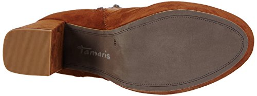 Tamaris 25857 Damen Halbschaft Stiefel Braun (Cognac 305)