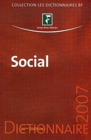 Dictionnaire Social 2007