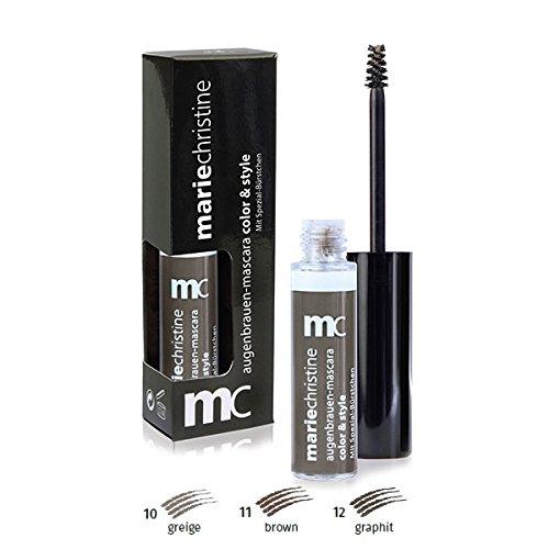 mc mariechristine Augenbrauen Mascara Farbe 12 graphit