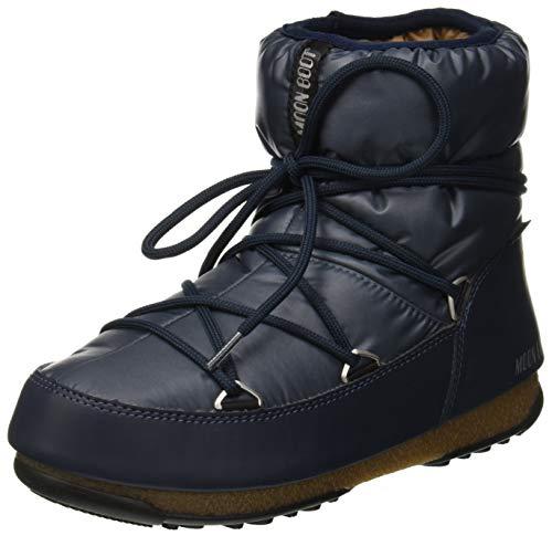 Moon-boot Damen W.E. Low Wp Schneestiefel, Blau (Blue-Denim 006), 40 EU