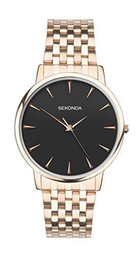 Sekonda uomo orologio analogico braccialetto color oro rosa 1432