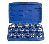 'CHIAVE A BUSSOLA strumento Nusse Noce Spline dentate Kit Set 1/28–32(NAS di 19ft)