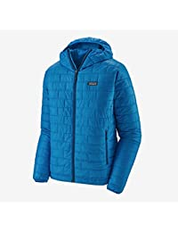 Patagonia M's Nano Puff Hoody Chaqueta, Hombre, Andes Blue w/Andes Blue, M