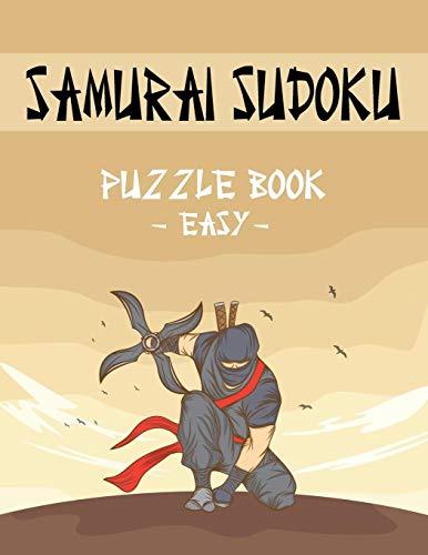 Samurai Sudoku Puzzle Book - Easy: 500 Easy Sudoku Puzzles Overlapping into 100 Samurai Style -