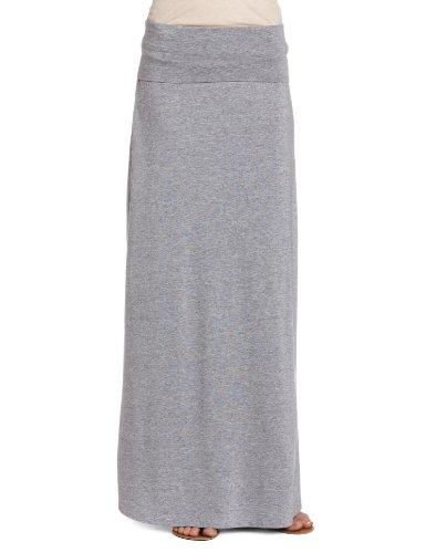 splendid-womens-2-in-1-maxi-a-line-skirt-heather-grey-size-14-manufacturer-sizelarge