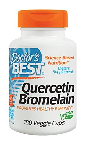Doctor's Best - Quercetin Bromelain - 180 Capsules