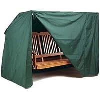 Kronenburg 4260161652265 - Funda para muebles de exterior, color verde,150 x 215 x 150 cm