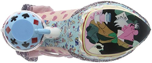 Irregular Choice - My Cup Of Tea, Scarpe col tacco Donna Rosa (Pink)