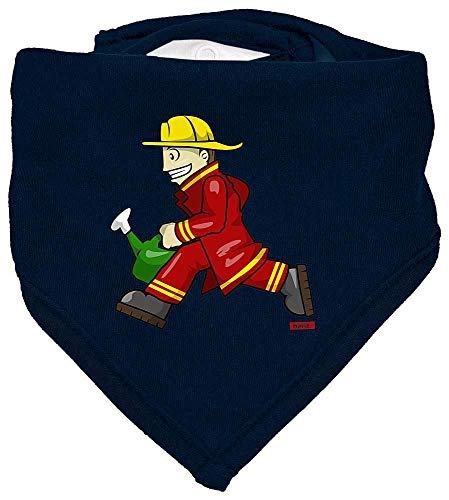 Rennen Kostüm Auto Babys - HARIZ Baby Halstuch Feuerwehrmann Kanne Rennen Feuerwehr Lustig Plus Geschenkkarten Matrosen Dunkel Blau