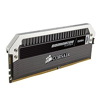 Corsair Dominator Platinum DDR4 16 GB (2 x 8 GB) 2666 MHz C15 XMP 2.0 Enthusiast Desktop Memory Kit