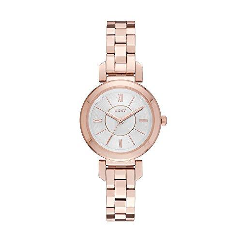 DKNY Reloj Analogico para Mujer de Cuarzo con Correa en Acero Inoxidable NY2592