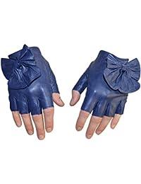 Paire de Mitaines en cuir d agneau gants Femme 6 couleurs 51fc5da5cca