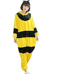 Fayear Unisex-Adultos Animal Pijamas Ropa de dormir Cosplay Disfraces Homewear para Mujer Hombre