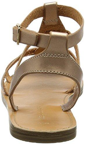 New Look Gladius, Sandali con Cinturino alla Caviglia Donna Oro (Rose Gold)