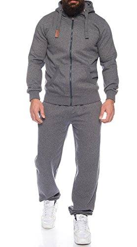 Finchman 92Q23 Finchsuit 1 Herren Jogging Anzug Trainingsanzug Darkgray M