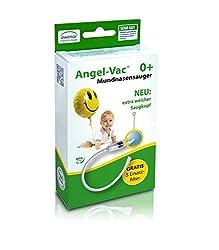 Angel-Vac Mund-Nasensauger Neu: Mit Extra weichem Saugkopf