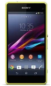 Sony Xperia Z1 Compact Smartphone débloqué Etanche 5 pouces 16 Go Appareil photo 20,7 MP Android 4.4 KitKat Jaune
