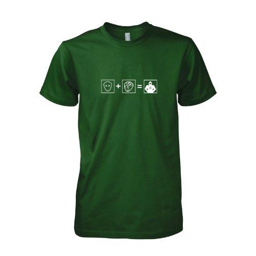 TEXLAB - TBBT: GL Transform - Herren T-Shirt Flaschengrün