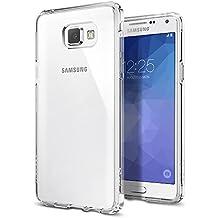 Coque Samsung Galaxy A5 2016, Spigen [Ultra Hybrid] Premium Case [Crystal Clear] Arrière en PC + Bumper en TPU / Antidérapant - (SGP11835)