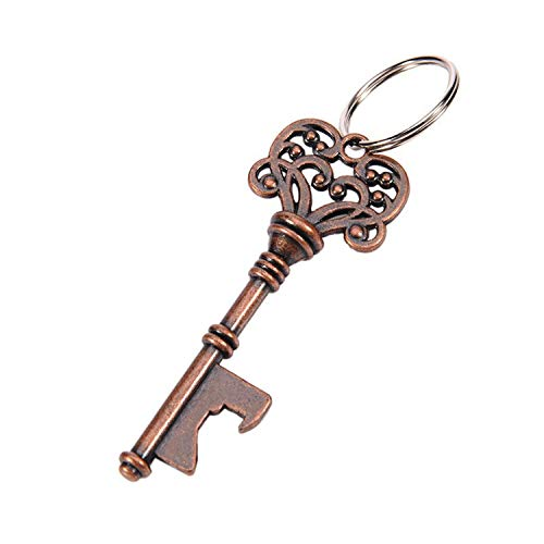Mini Kronenöffner Metall Schlüssel Bieröffner Antik Schlüsselanhänger Retro Flaschenöffner Tragbar Bar Küche Zubehör Einheitsgröße A2