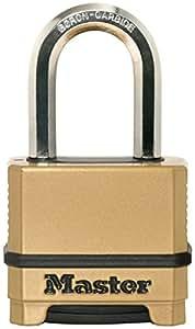 Master Lock M175EURDLF Excell Cadenas 50 mm en zinc chromé