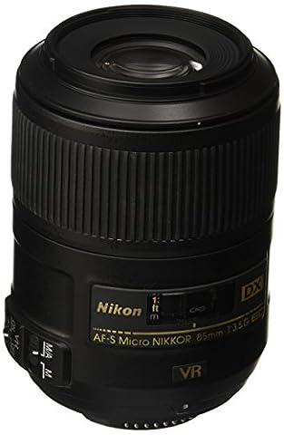 Nikon AF-S Micro Nikkor DX 85mm 1:3.5G ED VR Objektiv (52 mm Filtergewinde, bildstab.)