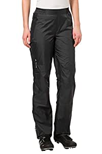 VAUDE Damen Hose Spray Pants III, Black, 36, 04961