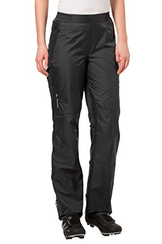 VAUDE Damen Hose Spray Pants III, Black, 38, 04961