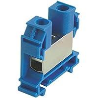 WIELAND Reihenklemme 9700A/16 Breite 16mm Länge 59mm blau S35 2,5-35mm² Hutschiene 35mm