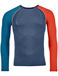 Ortovox 120 Comp Light Long Sleeve M Camiseta Térmica, Hombre, Night Blue, ...