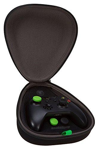 Preisvergleich Produktbild snakebyte Xbox One game:kit zur Aufbewahrung des Xbox One, One S & Elite Controllers - inkl. 4 Control Caps & 3m USB Ladekabel (Meshcable)