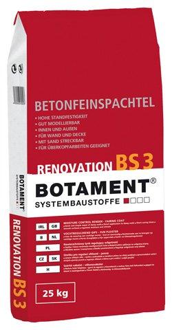 Botament Betonfeinspachtel BS 3 25kg