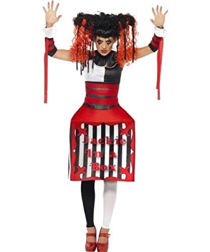 Kostüm Frau Jakie JOKER IN EINEM KASTEN (Frau Joker's Kostüm)