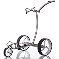 Trendgolf Elektro Golf Trolley Streaker Silber, mit aktiver Bergabfahrbremse