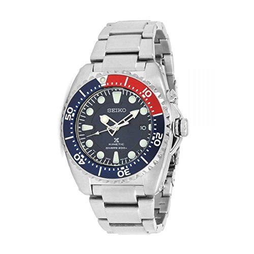 Seiko Herren-Armbanduhr 43mm Armband Edelstahl + Gehäuse Kinetisch SKA759P1
