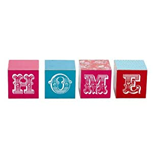 Landon Tyler Gypsy Rose Style Home Wooden Blocks
