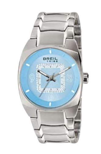 Breil orologio tribe match point donna  silver/azzurro