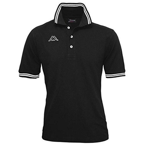 Kappa Maltax Polohemd Black