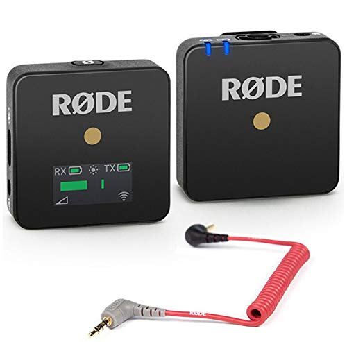 Rode WIGO Wireless GO - Sistema microfono con cavo di collegamento SC7