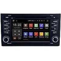 SYGAV Android 5.1.1Lollipop auto stereo CD Lettore DVD GPS di navigazione per Audi A4S4RS42002–2008con Wi-Fi, Bluetooth, radio 2DIN 7pollici 1024x 600