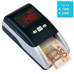Geldprüfer Geldprüfgerät Euro Banknotenprüfer Geldscheinprüfer SR-2100 von Securina24®