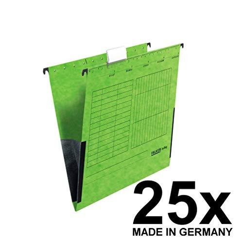 ngetasche UniReg. Das Original - Made in Germany. Aus Recycling-Karton für DIN A4 mit Leinenfröschen grün Blauer Engel ideal für die lose Blatt-Ablage im Büro und der Behörde ()
