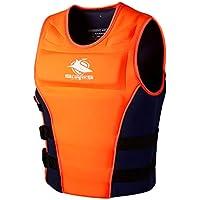 Chaleco de Natación Unisexo Adulto - Hombre Mujer Chaleco de Flotador Protección contra Colisión Mejor para el Surf Kayak de Lujo