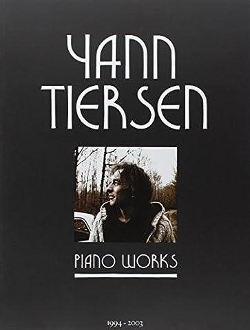 Tiersen Yann Piano Works 23 Pieces Pf Book (Partition)