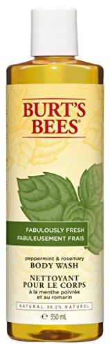 Burt's Bees Duschgel mit Pfefferminze und Rosmarin, 1er Pack (1 x 350 ml)