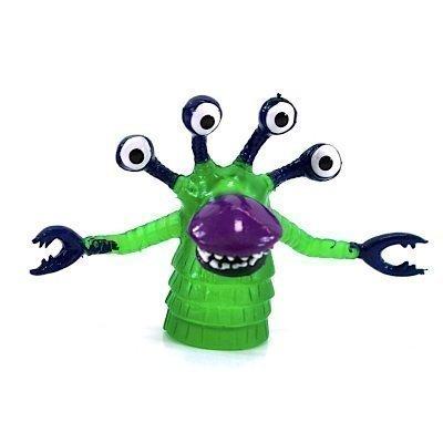 Finger-Monster FOUREYED green - Beast for your Fingers!