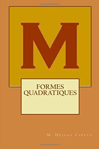 Formes Quadratiques: Algebre Lineaire