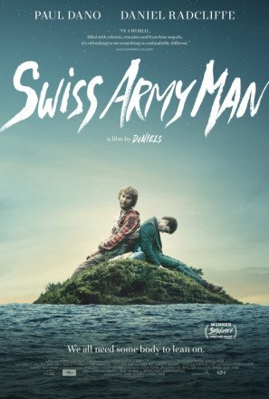 swiss-army-man-daniel-radcliffe-us-imported-movie-wall-poster-print-30cm-x-43cm-brand-new